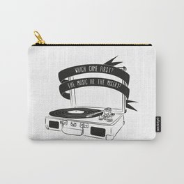 Which Came First, The Music or The Misery? Carry-All Pouch