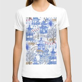 Party Leopards in the Pagoda Forest T-shirt