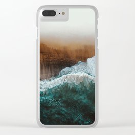 Sea 16 Clear iPhone Case