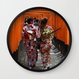 Yukata Wall Clock