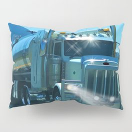 On the Highway Home Pillow Sham