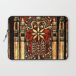 Bohemian Carvings Laptop Sleeve