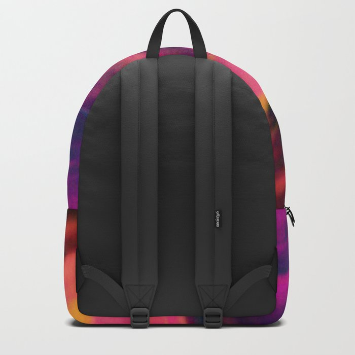 wavy clouds Backpack