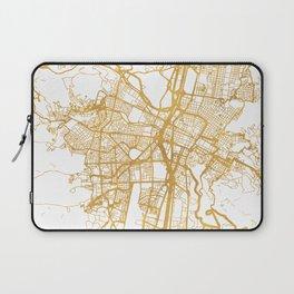 MEDELLÍN COLOMBIA CITY STREET MAP ART Laptop Sleeve