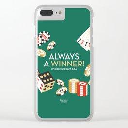 Always a winner! Clear iPhone Case