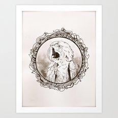 Parrot Art Print