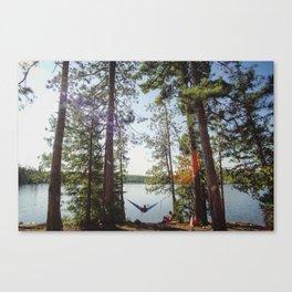 Hammock Hangout Canvas Print