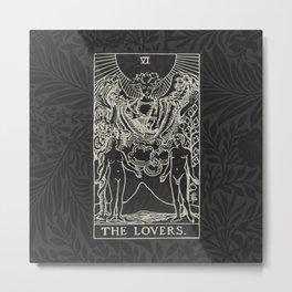 The Lovers Dark Metal Print