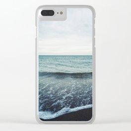 Sea Fold Clear iPhone Case