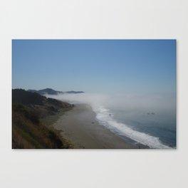 Oregon fog  Canvas Print