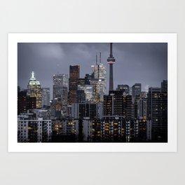 City night ville Art Print