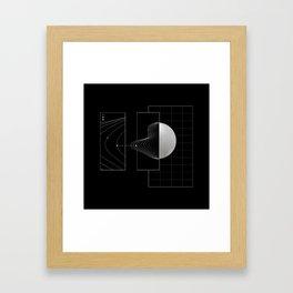 Keep on track Framed Art Print