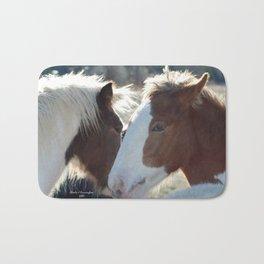 Horses Wispering Bath Mat