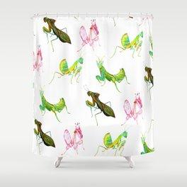 The Leaf Mantis Shower Curtain