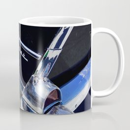 Black and Chrome Tail Fin Coffee Mug