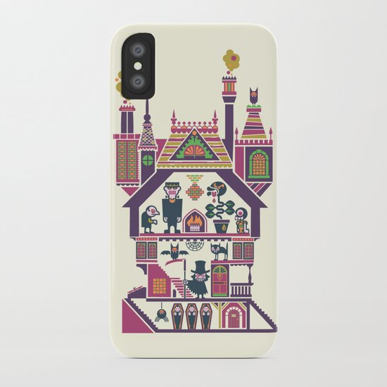House Of Freaks iPhone Case