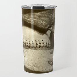 Vintage Baseball Memories 5 Travel Mug