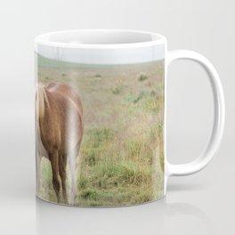 Icelandic horses - nature photography Coffee Mug