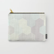PASTEL HONEYCOMB Carry-All Pouch