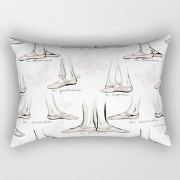 Ballet Rectangular Pillow