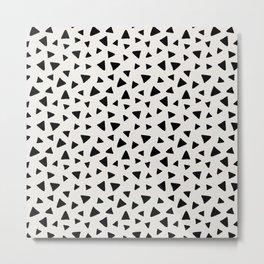 Geometric Dot Metal Print