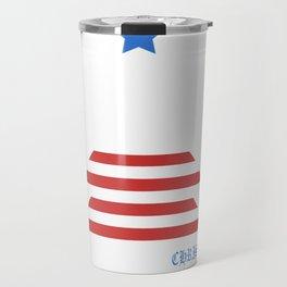 Great American Christmas Patriotic Christmas Tree  Travel Mug