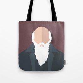 Charles Darwin Tote Bag