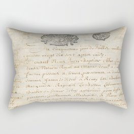 French Contract 1697 Rectangular Pillow