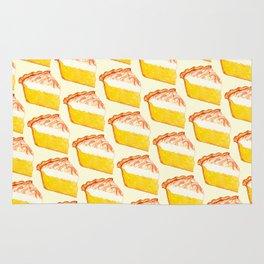 Lemon Meringue Pie Pattern Rug