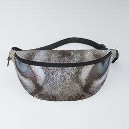 Cat with Blue Eyes Fanny Pack