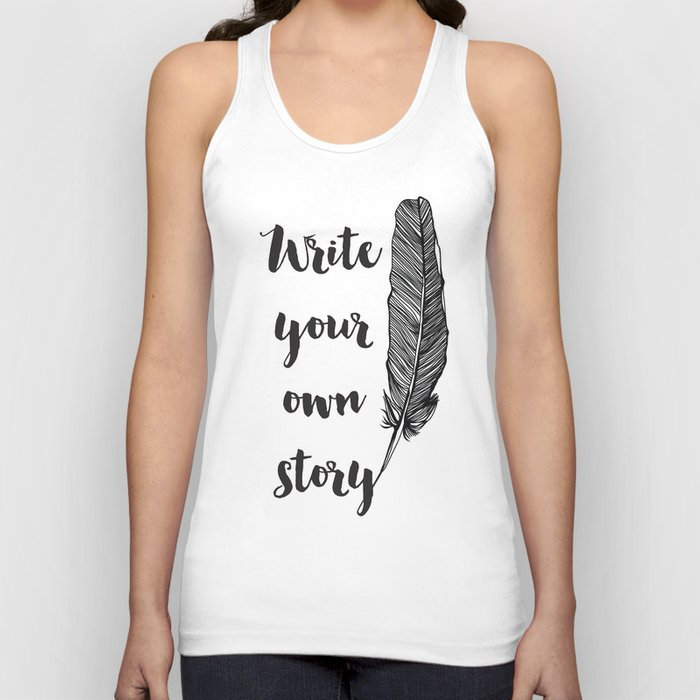 Write your own Story Unisex Tank Top