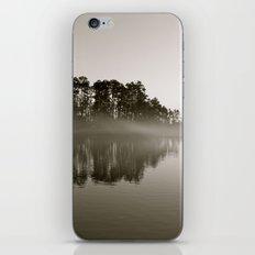 Misty Lake B&W iPhone & iPod Skin