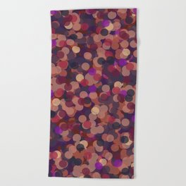 Dots 3 Beach Towel
