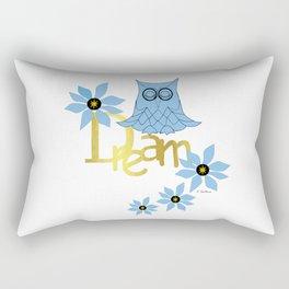 Dreamer Owl Rectangular Pillow