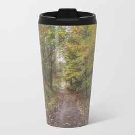 Autumn Cycle Path Travel Mug