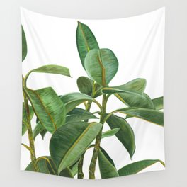 Rubber Tree Wall Tapestry