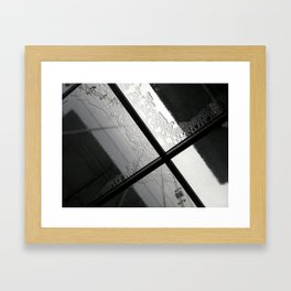 Rain I Framed Art Print