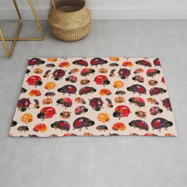 Lady beetles Rug