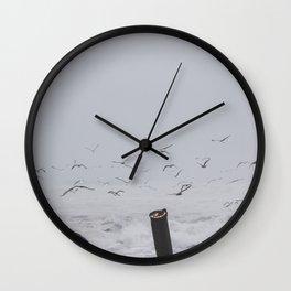 Flying Wall Clock