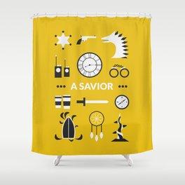 OUAT - A Savior Shower Curtain