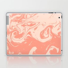 Marble watercolor suminagashi painting japanese water ocean pisces marbled pattern Laptop & iPad Skin