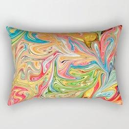 Melted Gummy Bears Rectangular Pillow