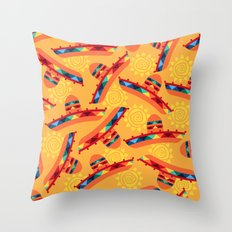 Sombrero Pattern Throw Pillow