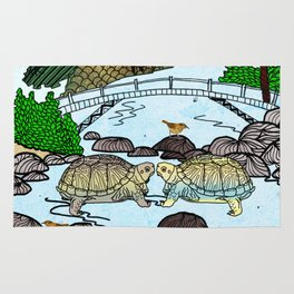 Love of a Turtle River Rug