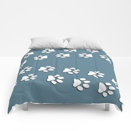 """Pattern Print """"Paws"""" Comforters"""