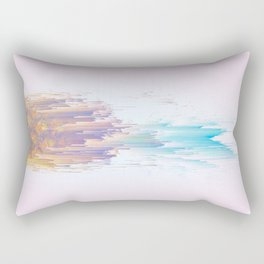 Pink Pineapple Power! Rectangular Pillow