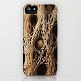 Fire Cholla Skeleton iPhone Case