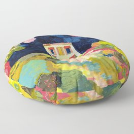Nightgarden Floor Pillow