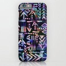 Tapa Tribal Black iPhone 6s Slim Case