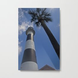 Cape Canaveral Lighthouse Metal Print